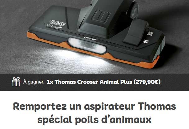 le faites des conomies au quotidien c 39 est facile concours 1 aspirateur thomas. Black Bedroom Furniture Sets. Home Design Ideas