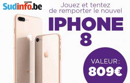le concours sudinfo vous offre le nouvel iphone 8. Black Bedroom Furniture Sets. Home Design Ideas
