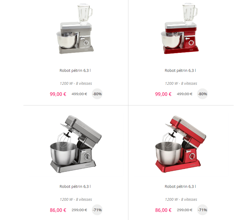 Le vente priv e robot cuisine for Robot de cuisine professionnel