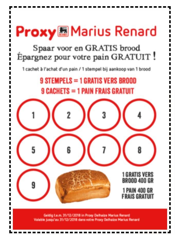 pain gratuit