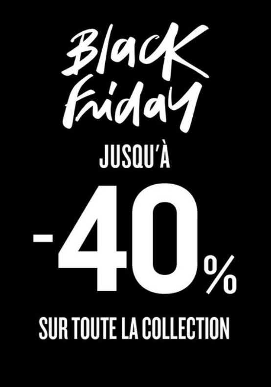 Black Friday chez Desigual