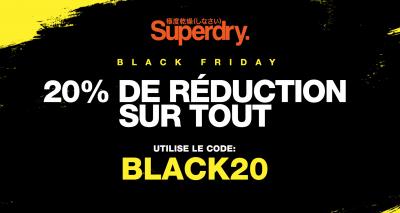 superdry belgique promo