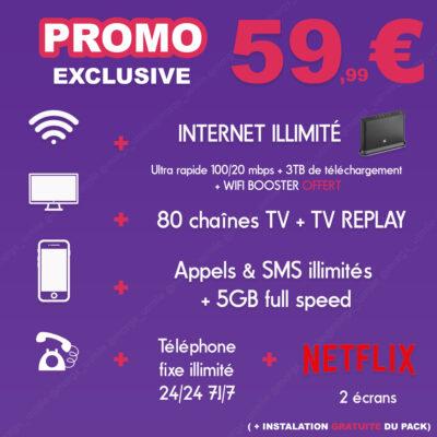 pack tv internet promotion